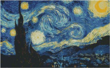 Vincent Van Gogh Starry Night 80x50cm
